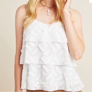 Anthropologie NWT tiered tank AMADI